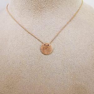 Wishcircle Halskette Roségold