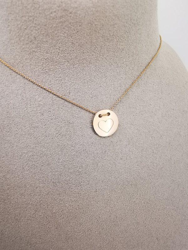 Wishcircle Halskette Herz